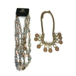 Mixit Necklace and Statement Necklace Bonus Gift